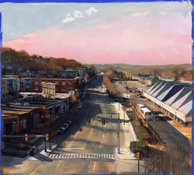 , 'Stoney Brook Valley,' 2018, William Baczek Fine Arts