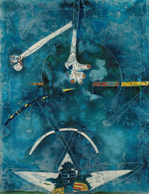 Gianni Dova, 'Incontro', 1961, Finarte