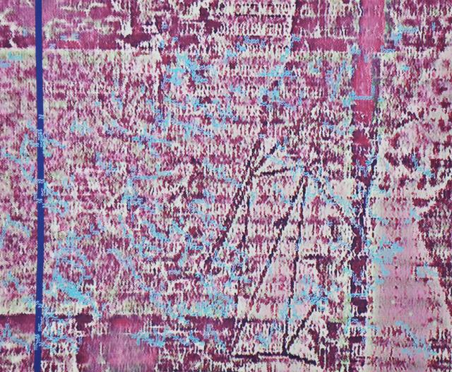 , 'viral attaque break thRougH,' 1993, Galerie Richard