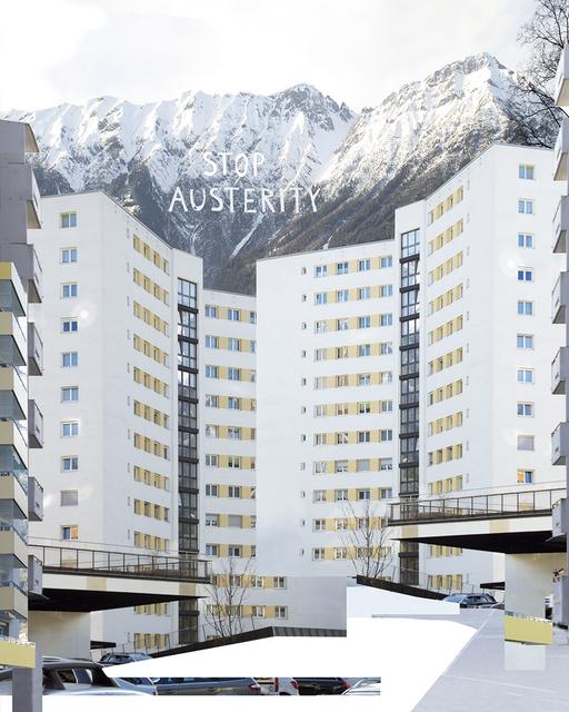 , 'urban texture / transfer athen-innsbruck,' 2017, Artdepot