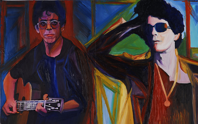 , 'Lou Reed Then and Now,' 2006, Fountain House Gallery