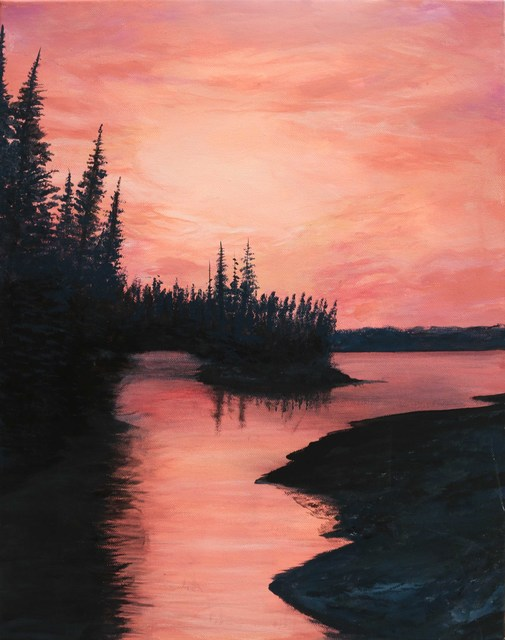 , 'Sunrise in Quebec, Canada,' , ArtLifting