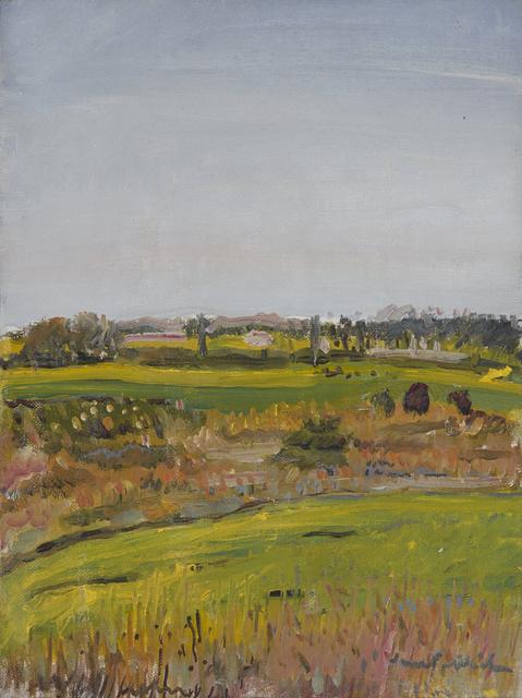, 'Small Landscape,' 1974, Tibor de Nagy