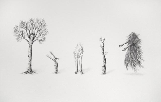 , 'Vue de l'esprit (le futur inversé),' 2017, Galerie D'Este