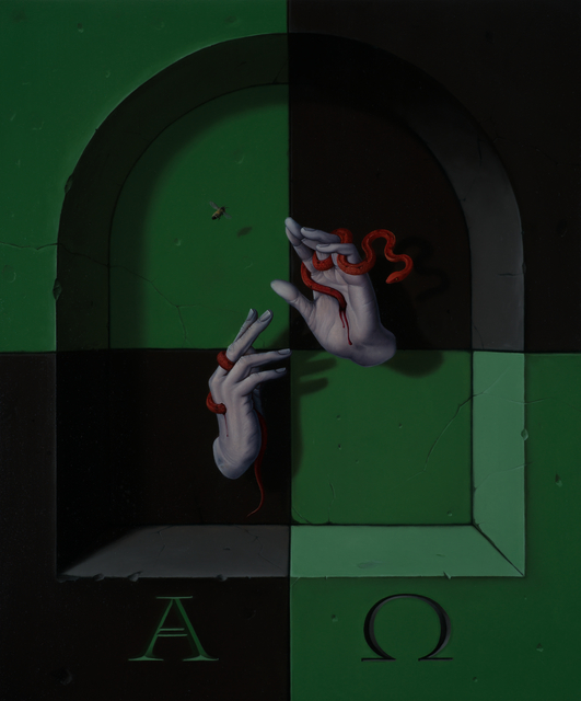 , 'Alpha & Omega,' 2017, Galerie Heike Strelow