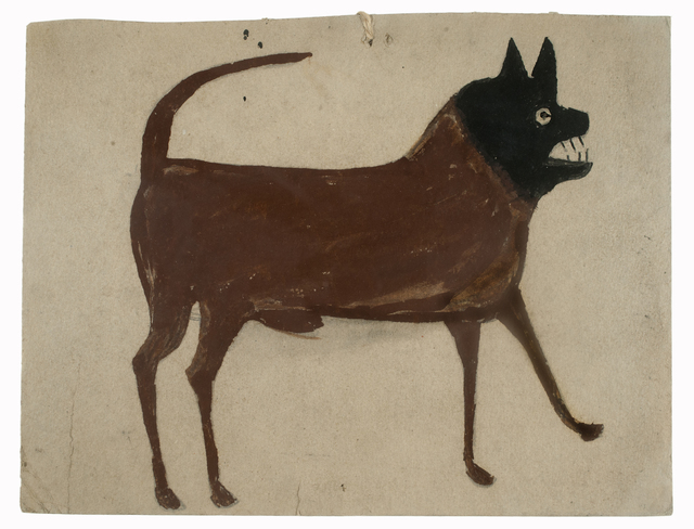 , 'Dog with Black Head,' 1939-1942, Ricco/Maresca Gallery