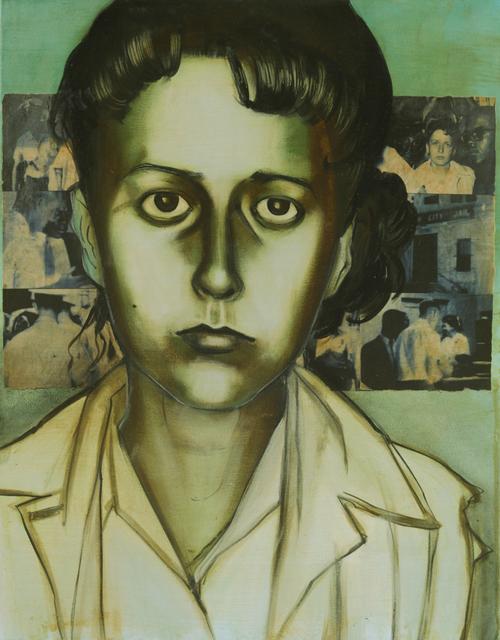 Charlotta Janssen, 'Salynn McCollum (portrait) 19 yrs, from Nashville TN Arrested but set free, Jackson MS', 2011, Hudson Milliner Art Salon