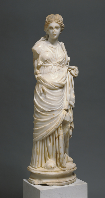 'Statue of a Muse', ca. 200, J. Paul Getty Museum