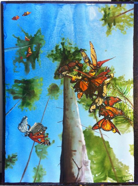 , 'Untitled (Monarchs),' 2013, Sperone Westwater