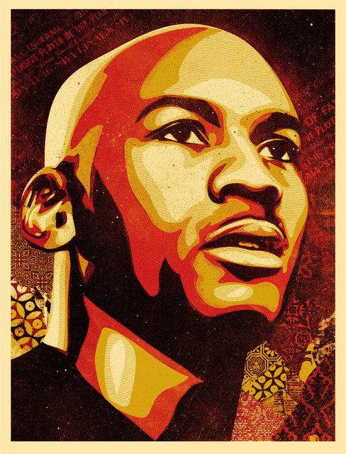 , 'Michael Jordan,' 2009, EHC Fine Art