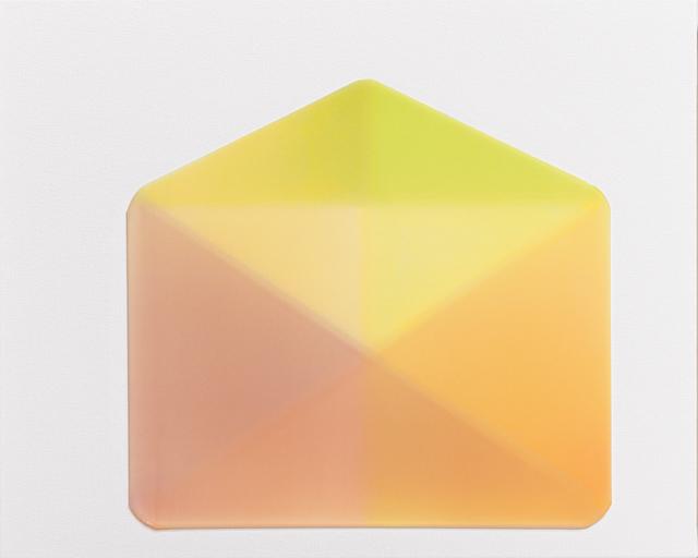 , 'Envelope,' 2015, Newzones