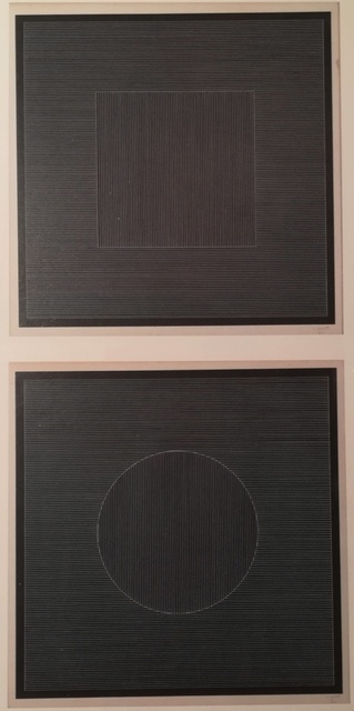 , 'Square - from Nine Geometric Figures (With Lines on Black),' 1982, Gallery On The Move