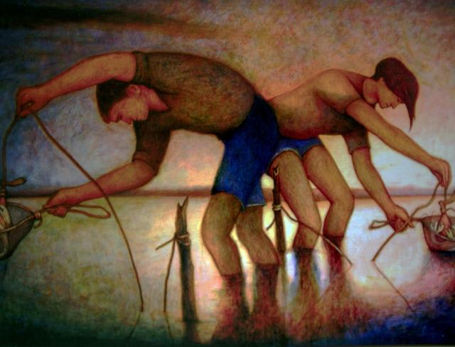 , 'The Yabbie Catchers,' 2012, Anthony Horth Gallery