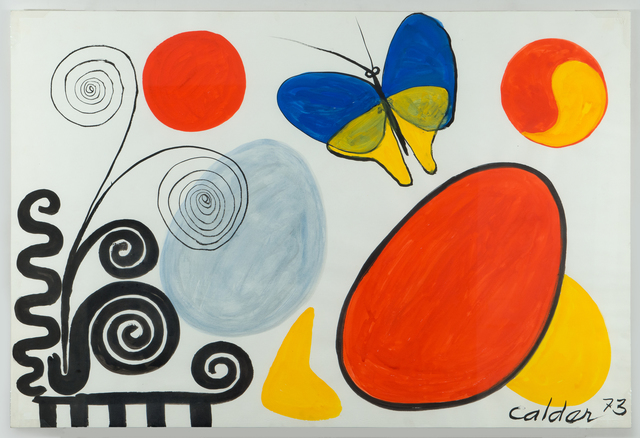 , 'Blue and Yellow Butterfly,' 1973, Chowaiki & Co.