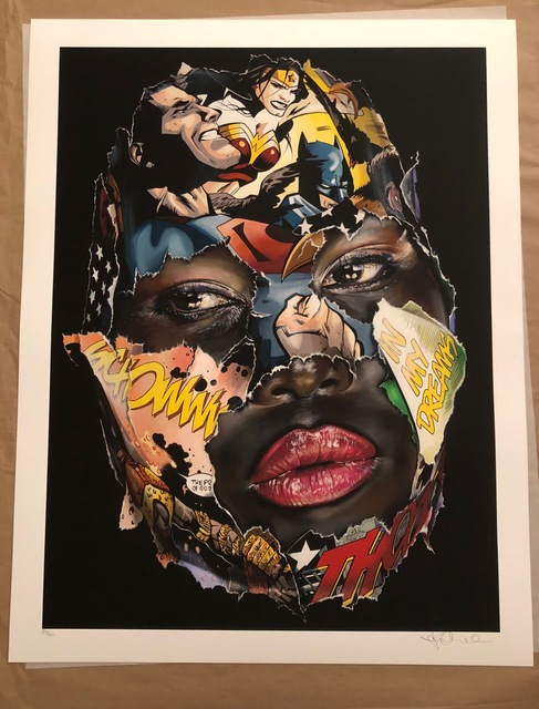 , 'La Cage et le pouvoir des dieux ( Print),' 2017, 9 Strokes Gallery