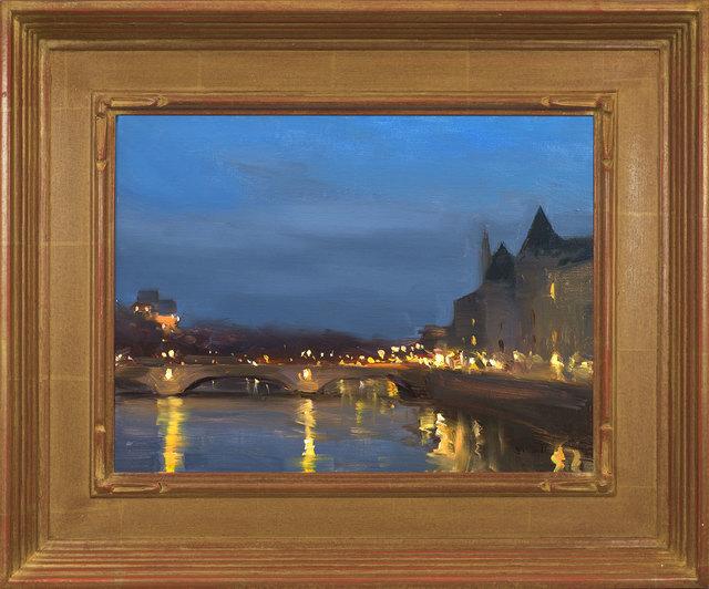 Jesse Powell, 'Paris, Pont Neuf', 2018, Painting, Oil on Linen, ARCADIA CONTEMPORARY
