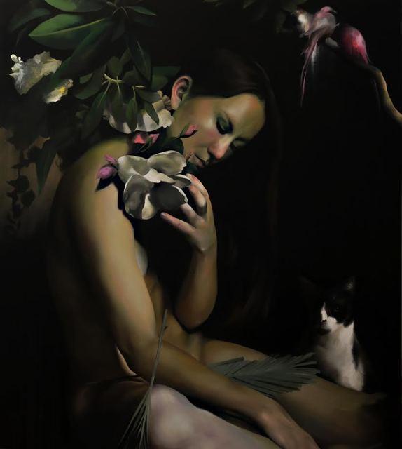 , 'Young Hawaiian Goddes,' 2016, Blanca Soto Arte