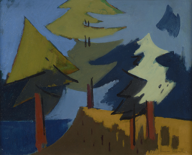 Herman Maril, 'Trees, Maine', 1962, Debra Force Fine Art