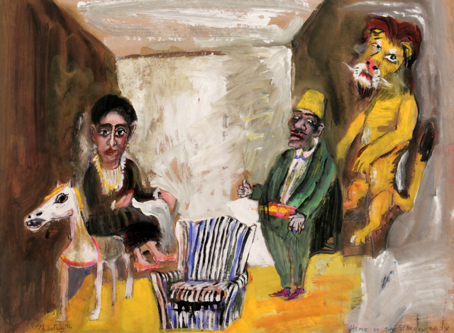 James Martin, 'Home of the Sparrow Lady', 1991, Foster/White Gallery