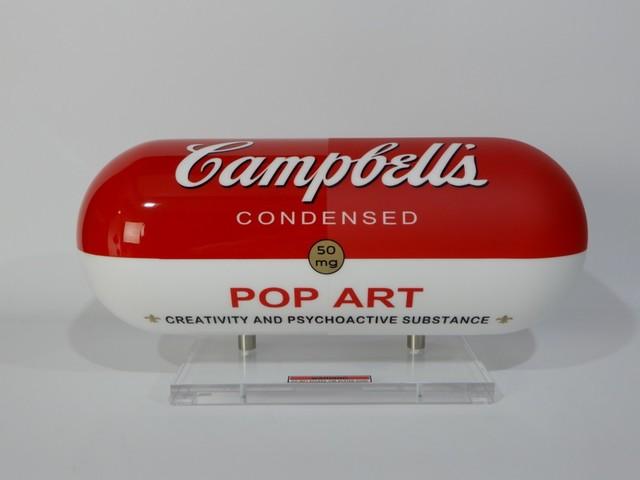 """, 'Addiction Series """"Cambells Pop art"""",' 2016, European Design & Art"""