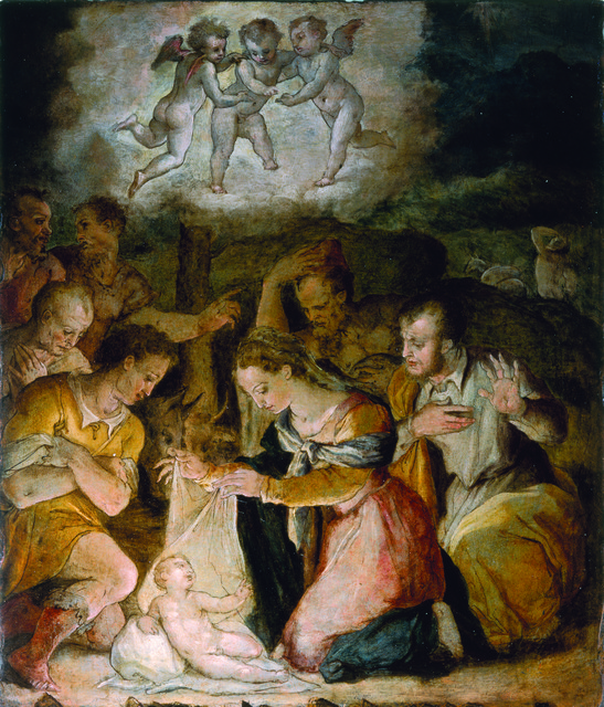 , 'The Adoration of the Shepherds,' ca. 1554, Museo Soumaya