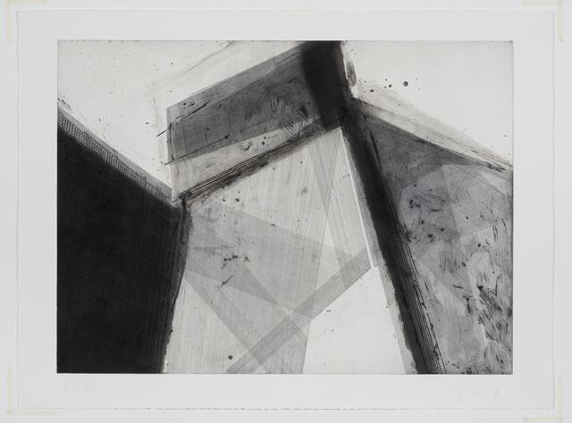 José Pedro Croft, 'Sem título | Untitled ', 2017, Print, Água forte, água tinta, ácido direto e ponta seca, Mul.ti.plo Espaço Arte