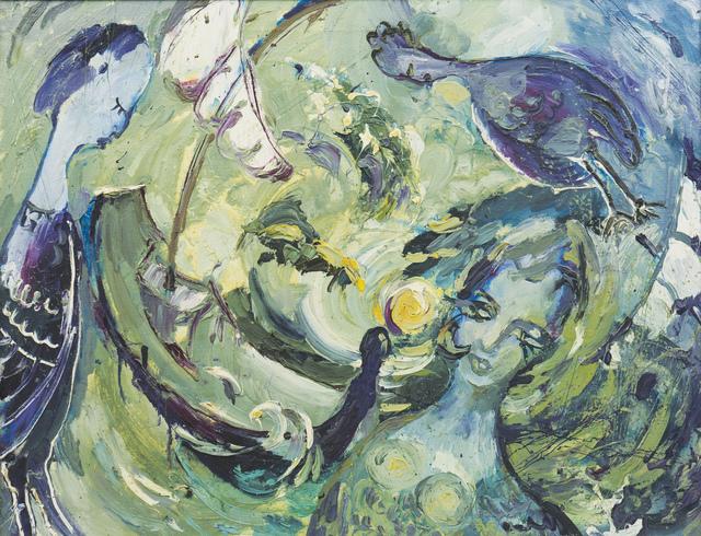, 'Sirens are colling,' 1992, Rudanovsky Foundation