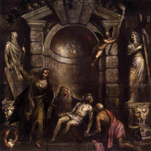 Titian, 'Pietà', ca. 1570-76, Art History 101