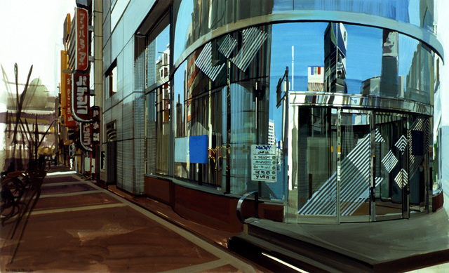 Richard Estes, 'Six Views of Edo: Shinjuko III,' 1989, Louis K. Meisel Gallery