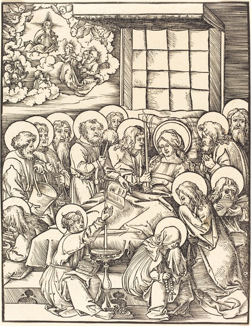 Hans Wechtlin I, 'Death of the Virgin', National Gallery of Art, Washington, D.C.