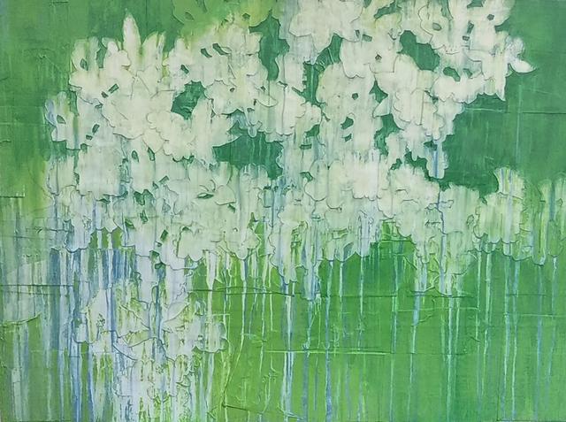 , 'Human Ecology - Green,' 2017, Elisa Contemporary