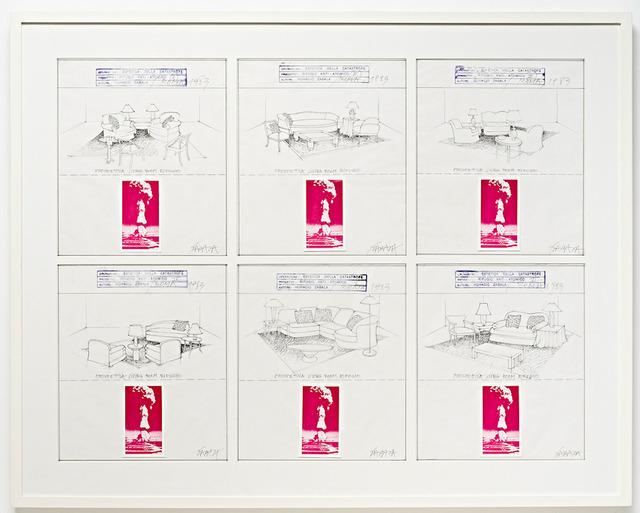 , 'Estética de la catástrofe. Refugio antiatómico,' 1983, Henrique Faria Fine Art