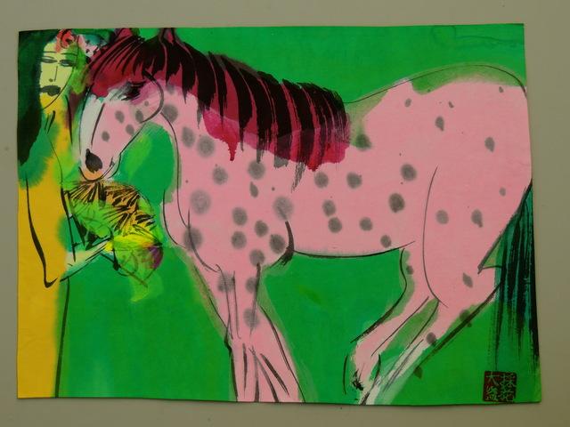 , ' Horse and woman,' ca. 1989, Bert Kuipers Kunsthandel