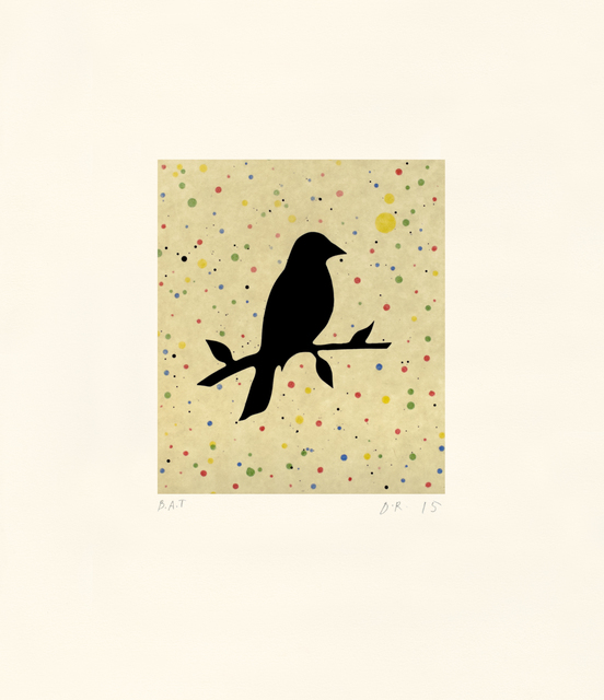 , 'Doty's Robin,' 2016, Tandem Press