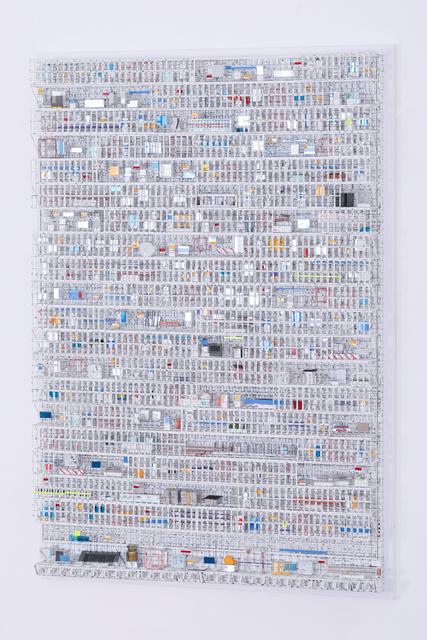 , 'Grid Structure #01016,' 2016, Micheko Galerie