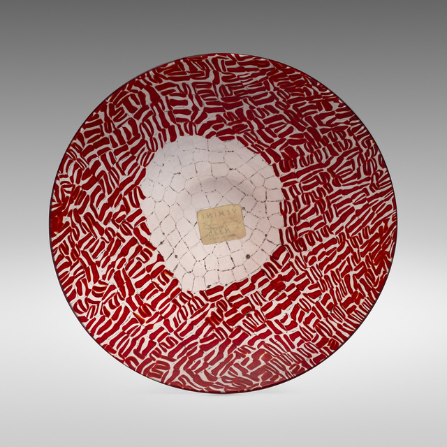 Paolo Venini, 'Murrine plate', 1957, Wright