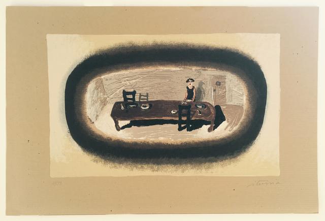 , 'Poniendo la mesa,' , Praxis Prints