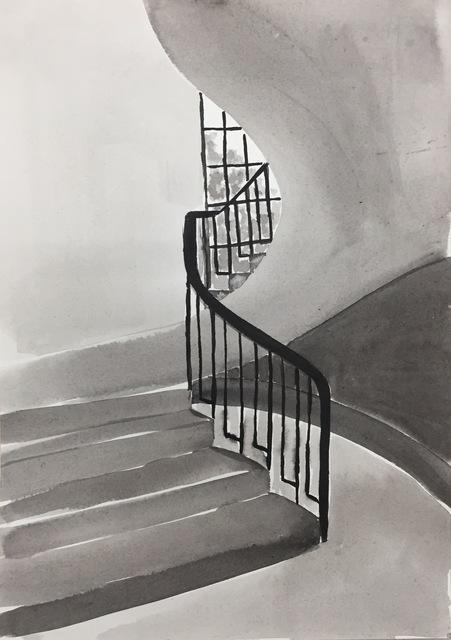 , 'Ink Rooms 2,' 2017, Galerie Huit