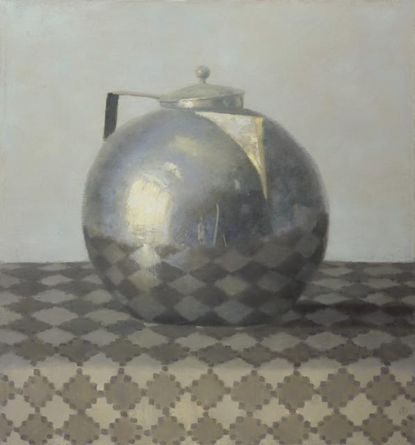 , 'Silver Teapot on Diamond Cloth,' 2015, Gallery Henoch