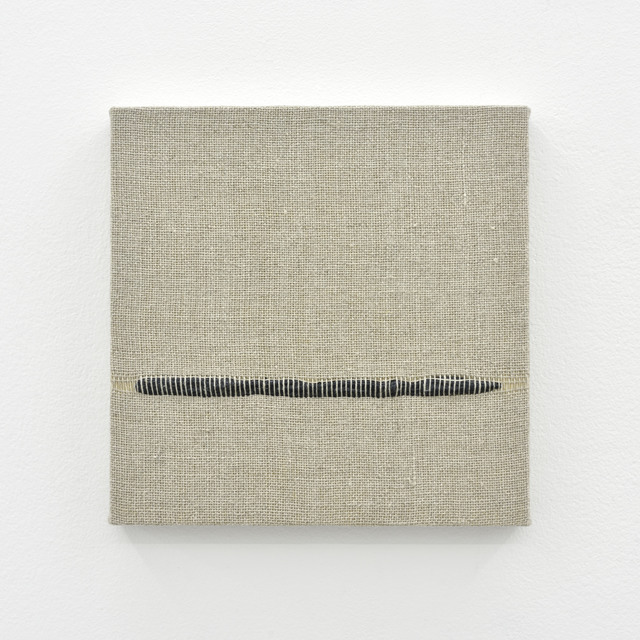 , 'Composition for Woven Horizon Line (Black),' 2017, PRAZ-DELAVALLADE