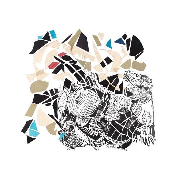 , 'JUNGLA VERDES      1.46 x 0.86 m      técnica mixta sobre tela,' 2016, Galería de Arte Imaginario