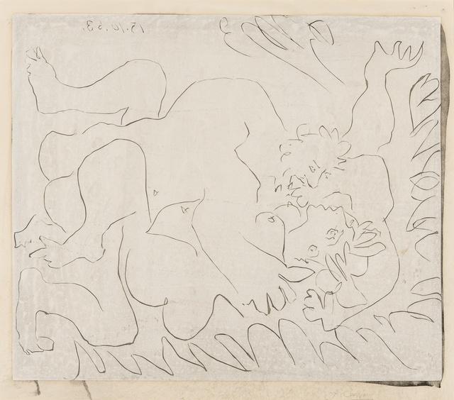 Pablo Picasso, 'L'Étreinte II (Bloch 1151)', 1963, Forum Auctions