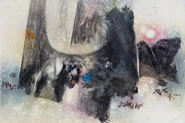 , 'Painting 6828,' 1968, Galerie du Monde