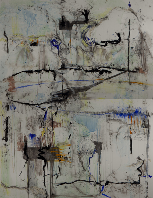 , 'Suspended #2 (vertical diptych),' 2015, Walter Wickiser Gallery