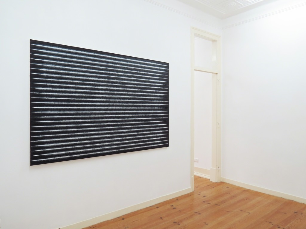 "Exhibition view of Yazid Oulab's exhibition ""Portée silencieuse"", 2016"