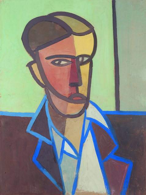 , 'Untitled (Self-portrait) (Autoritratto),' 1948, Peggy Guggenheim Collection
