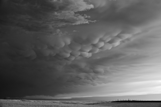 Mitch Dobrowner, 'Mammatus and Fence', 2014, Kopeikin Gallery