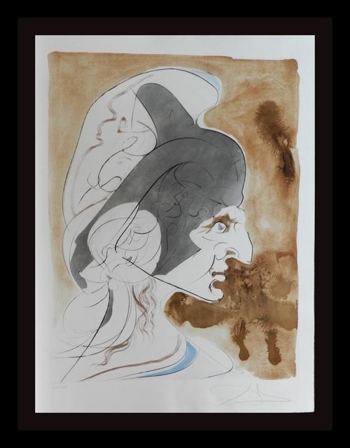 Salvador Dalí, 'Homage a Leonardo Condottiere ', 1975, Print, Etching, Fine Art Acquisitions Dali