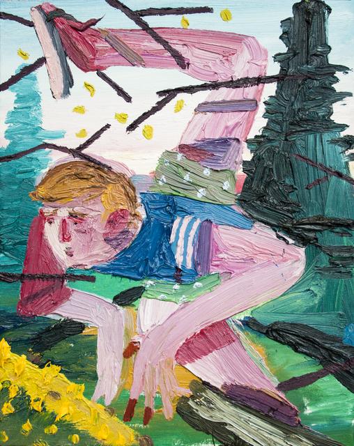 , 'Kick the log II,' 2018, Art+Text Budapest