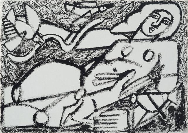 , 'Woman, Snake, Rabbit & Bird,' 2016, Joanne Artman Gallery